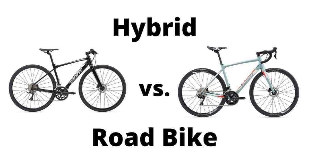 Different Road Bike vs Hybrid Bike