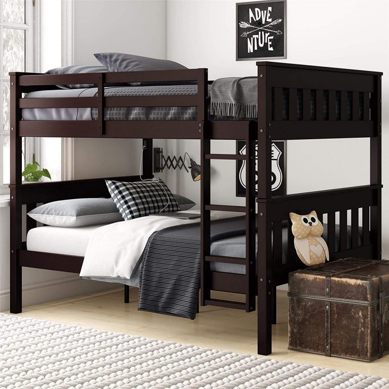 Twin Over Queen Bunk Bed