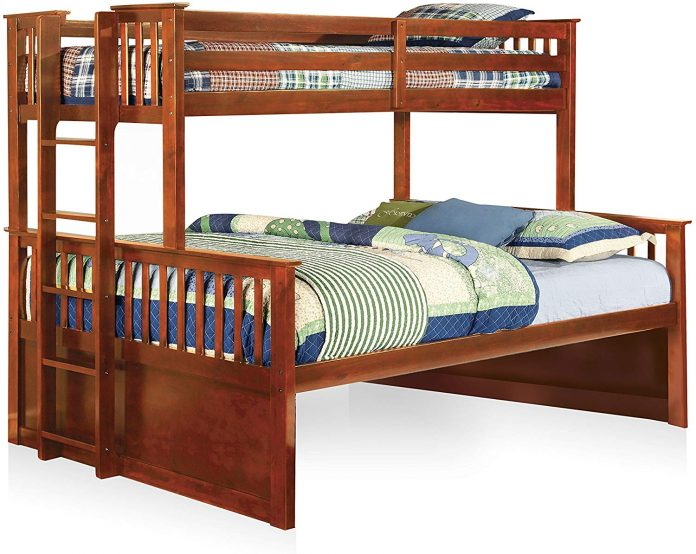 Furniture-of-America-Pammy-Twin-over-Queen-Bunk-Bed-Oak-696x554