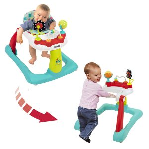 Kolcraft-Tiny-Steps-2-in-1-Activity-Toddler-_-Baby-Walker-Seated-or-Walk-Behind-Jubliee-300x300