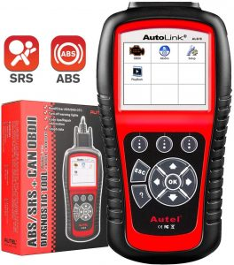 Autel AL619 Autolink Scanner OBD2, ABS &  SRS Airbag Warning Light Scan Tool