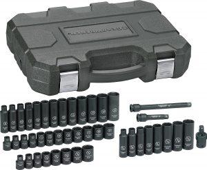 GEARWRENCH 44 Pc Drive 6 Pt. Impact Socket Set