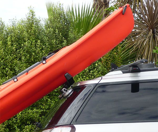 How to Put Kayak on Crossbars by Yourself