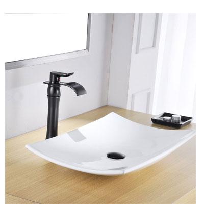 BWE 1-Handle Bathroom Vessel Sink Faucet