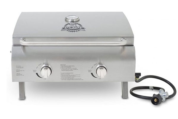 Pit Boss Grills Stainless Steel Portable Grill