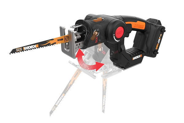 WORX WX550L AXIS Reciprocating Saw