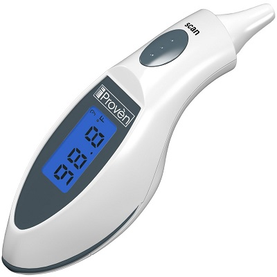 Ear Thermometer Quick Read Medical